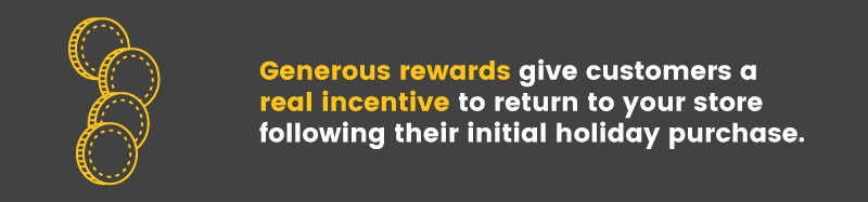christmas rush generous rewards