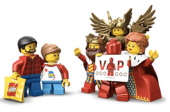 LEGO VIP program welcome image