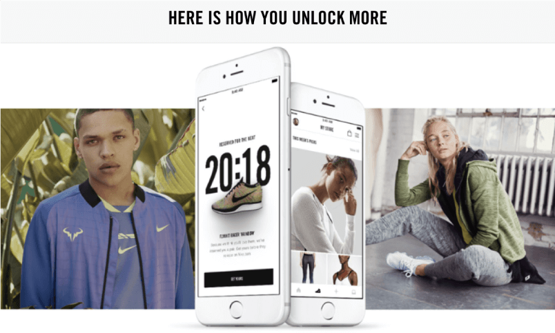 Nike+ has a beautifully branded site