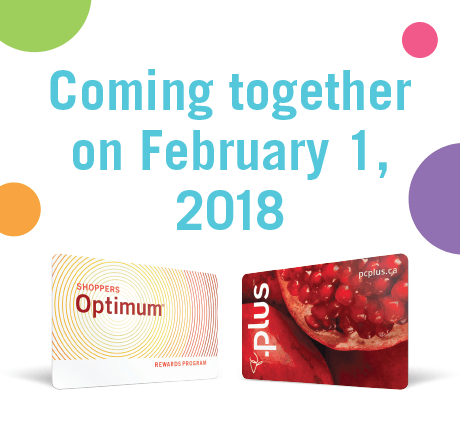 PC Plus and Shoppers Optimum Merge