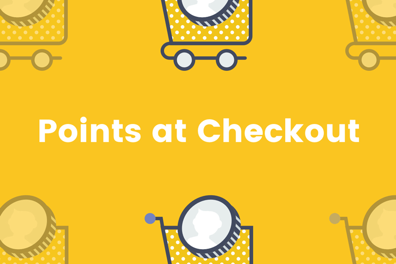 Introducing Points at Checkout
