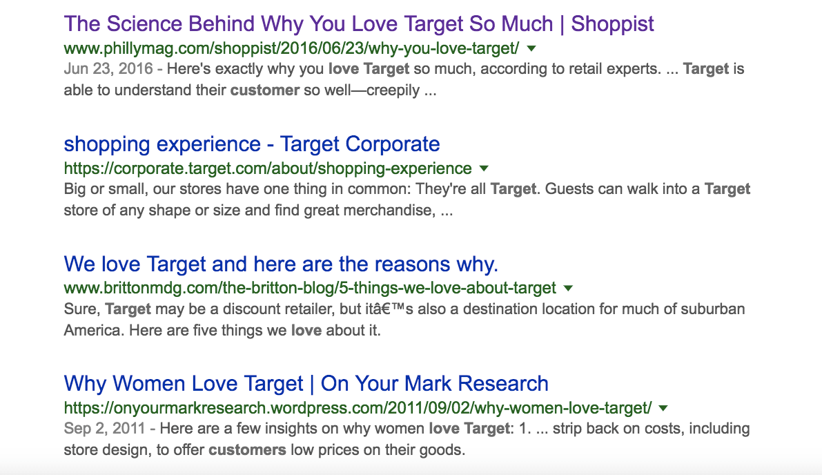Customers love target and the REDcard rewards program