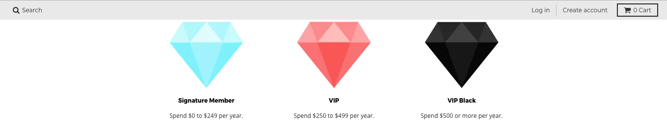 Creative Rewards Program Names PenGems VIP Tier Levels