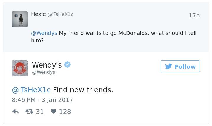 Best Customer Experiences Wendys Tweets