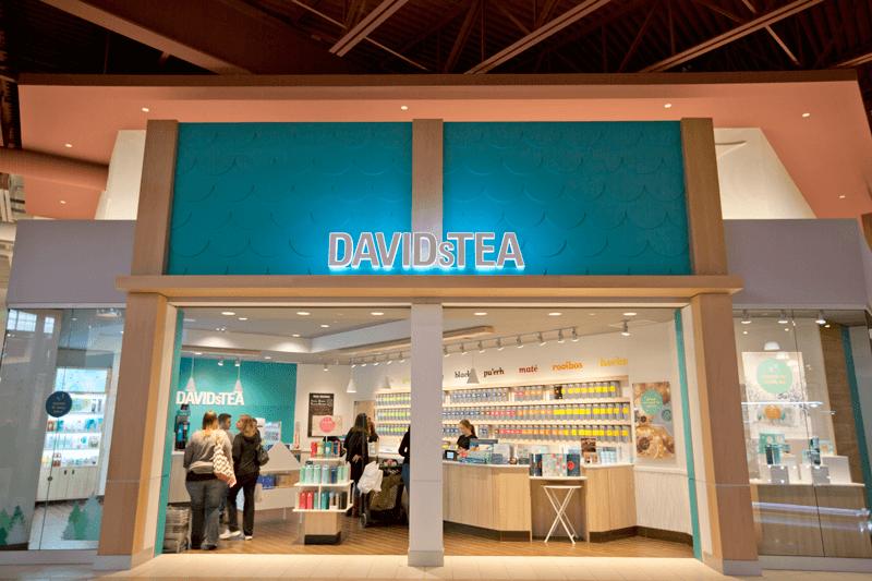 in-store experience davidstea