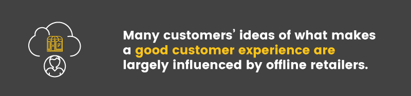 in-store experience informed idea