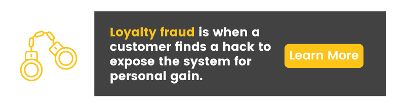 exploit reward point program fraud CTA