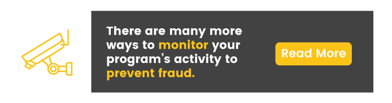exploit reward point program monitor fraud CTA