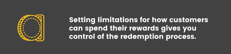 exploit reward point program redemption limits