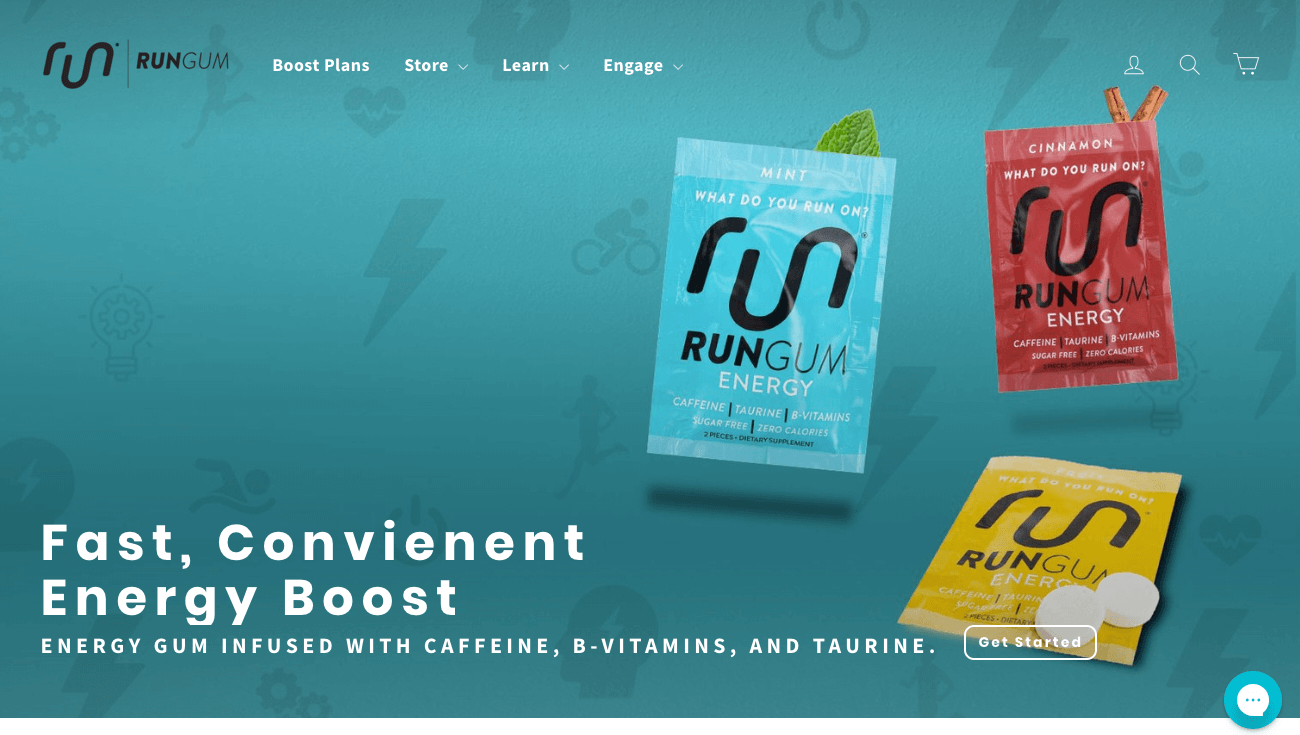 5 Benefits of Building an Online Brand Community - Run gum - fast convenient energy boost gum with caffeine