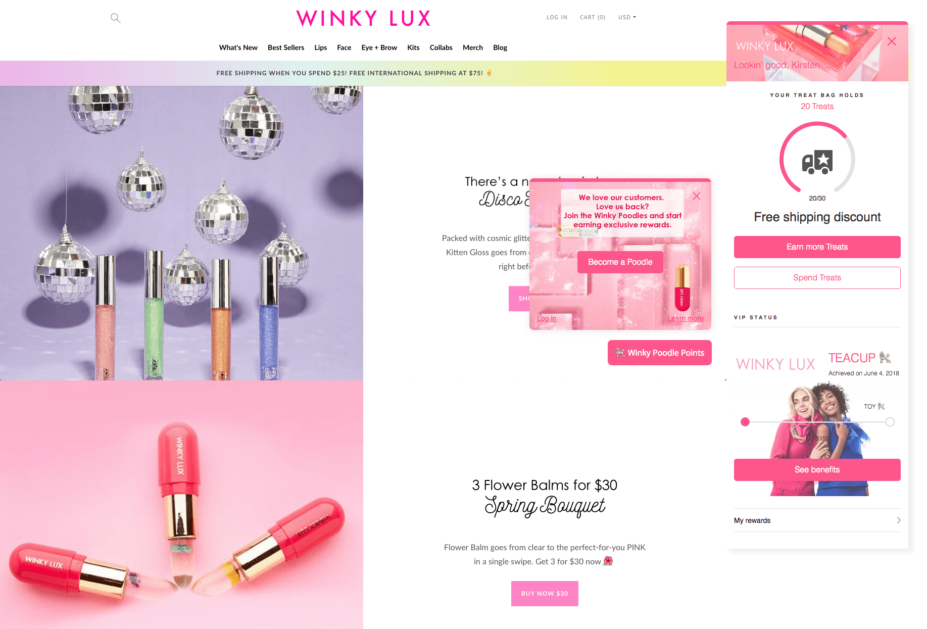 Get Customers to Join Winkylux Panel