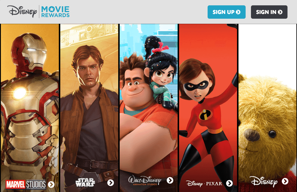 Best Brand Communities - Disney movie rewards home marvel starwars walt disney animation pixar