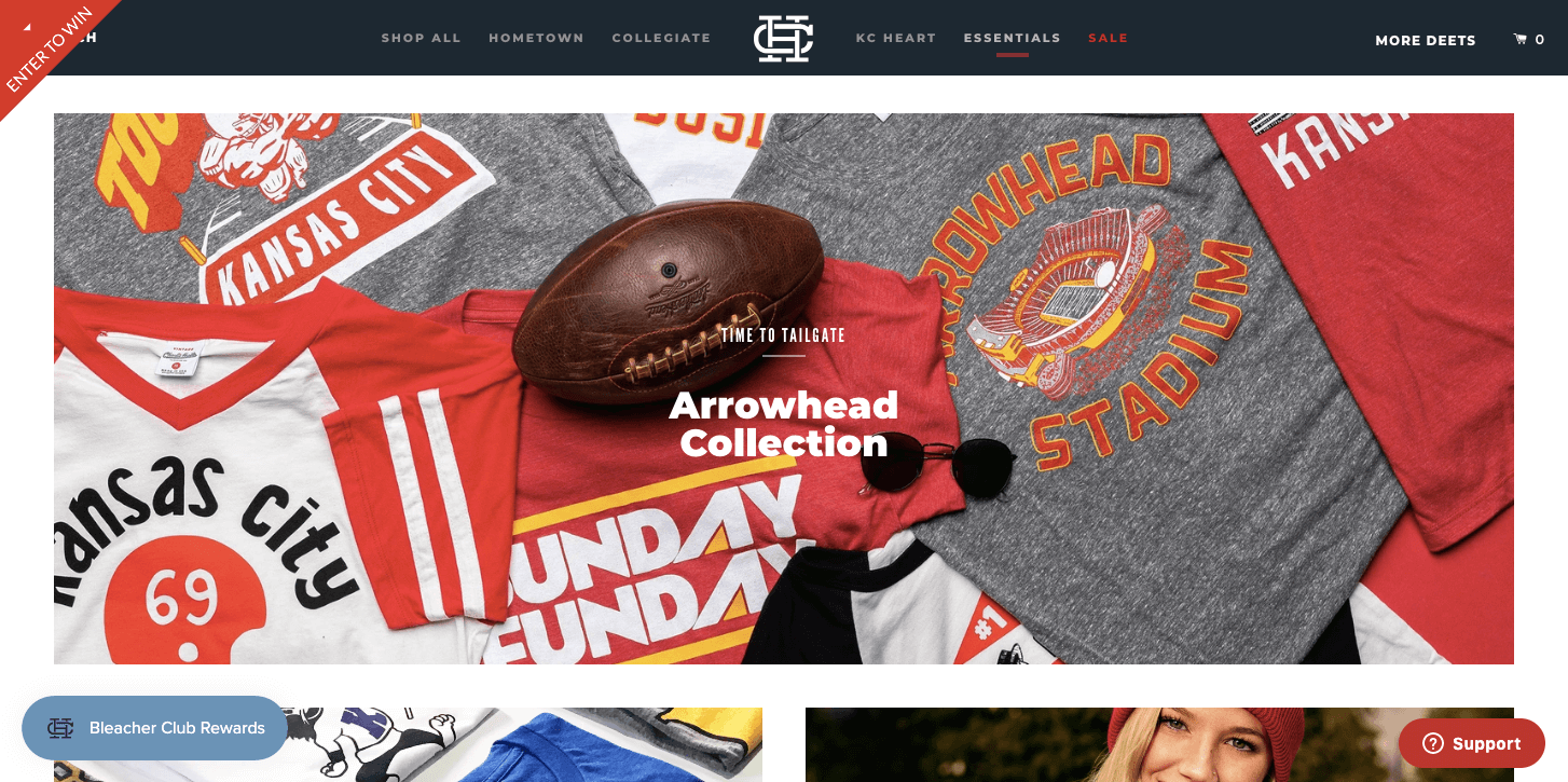 best brand communities - charlie hustle homepage