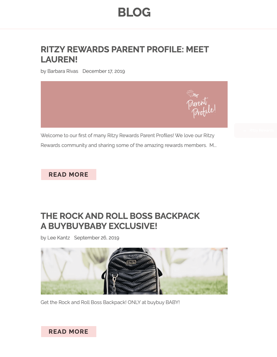 best brand communities - itzy ritzy blog