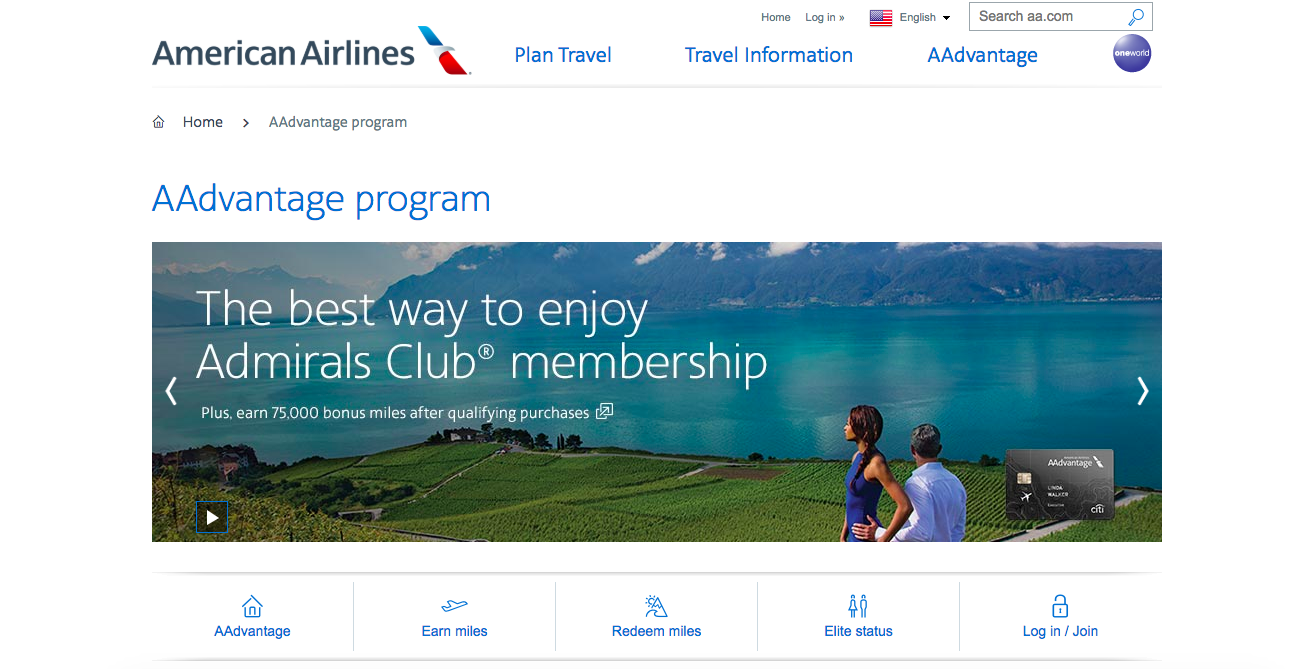 History of Loyalty Programs - AAdvantage