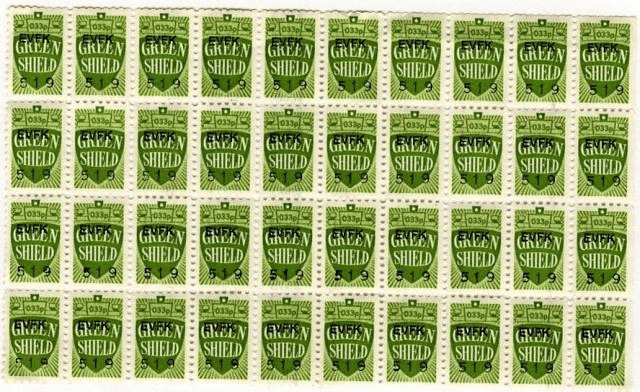 history of loyalty programs green shield stamps