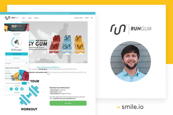 How Run Gum Empowered More Brand Advocates with Referrals