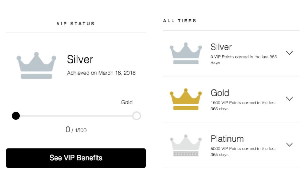 Roma Designer Jewelry VIP Rewards