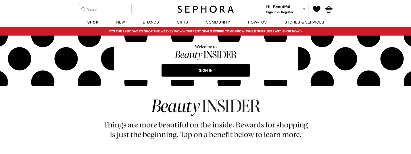 How to Leverage Exclusive Events to Build Community - Sephora Beauty Insiders