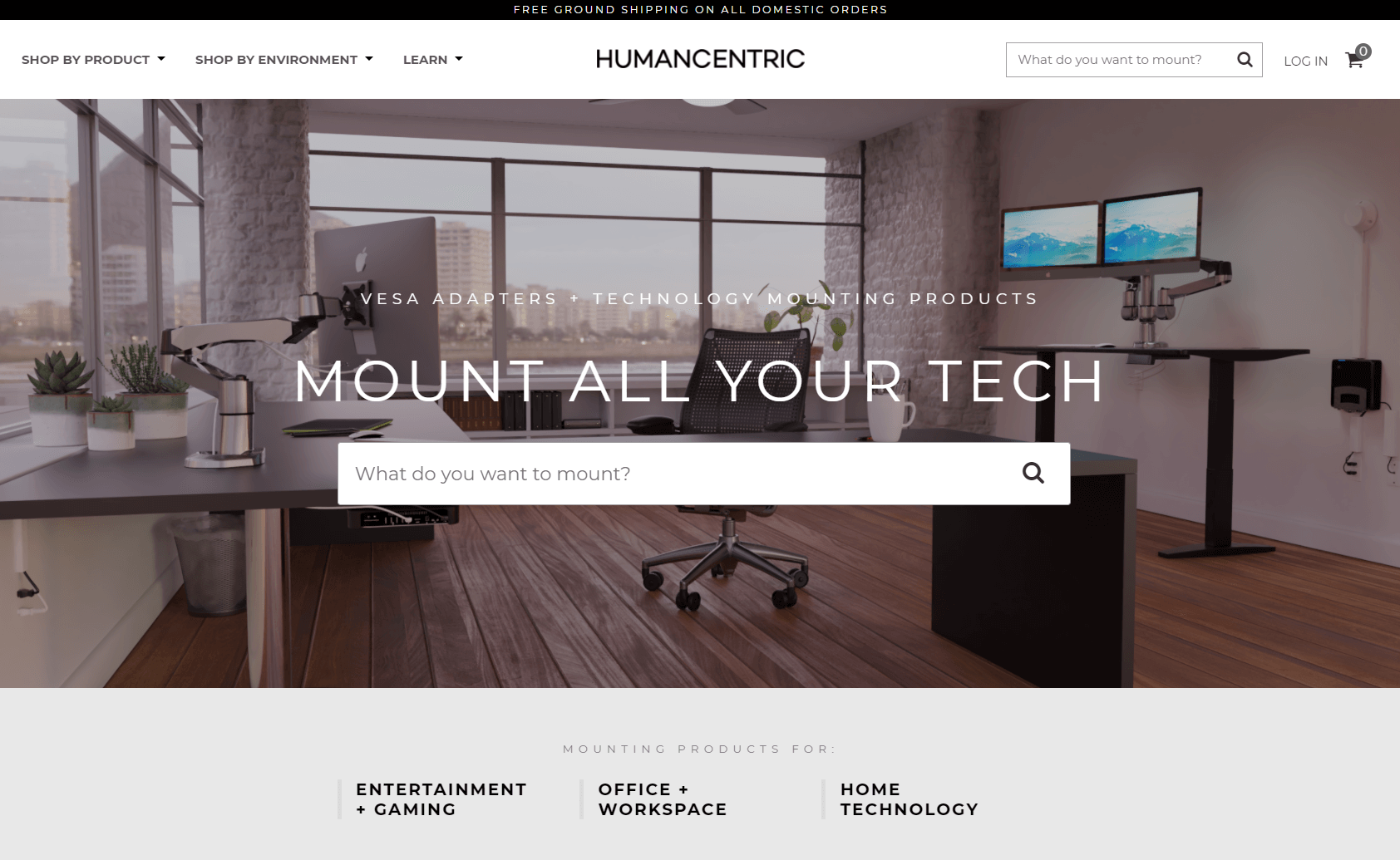 humancentric uses visual storytelling to sell products