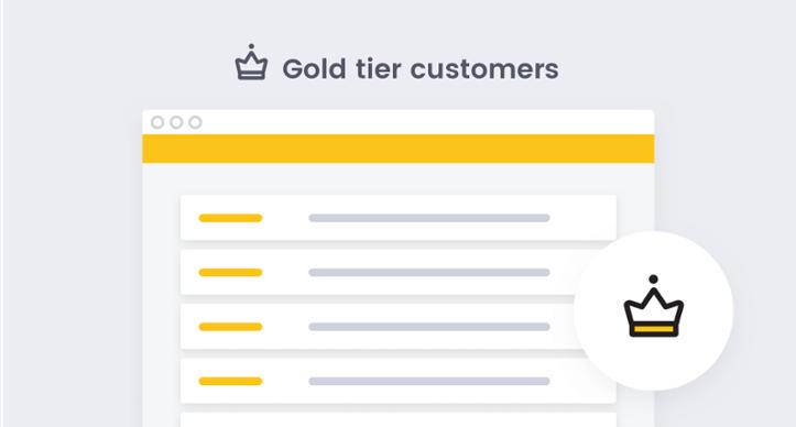 Privy Smile App - VIP List Gold tier