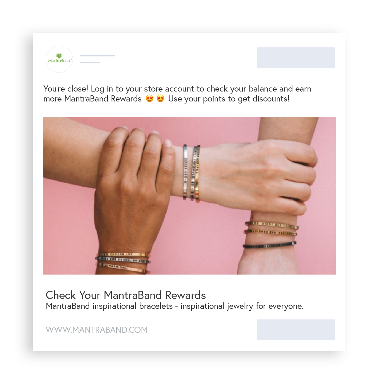 New Smile App Shoelace - existing member earn rewards with retargeting
