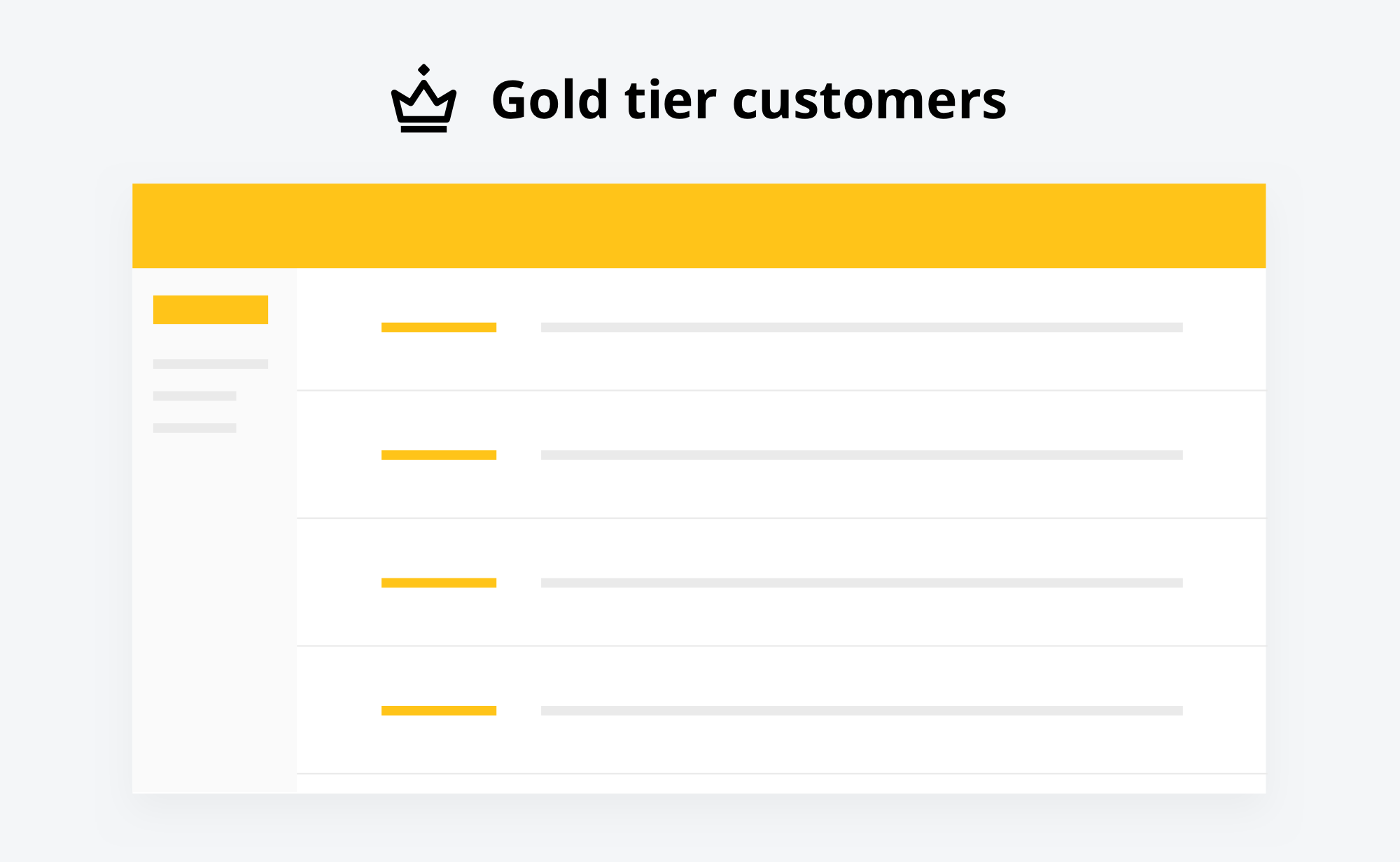 dotmailer and Smile allow you to segment customers by VIP tier