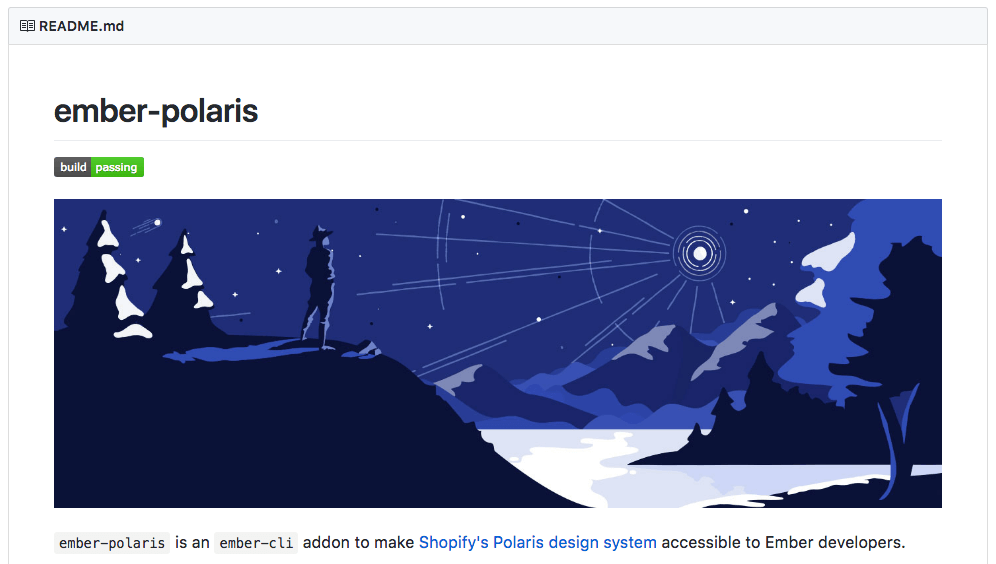 Open Sourcing Shopify Polaris for Ember.js