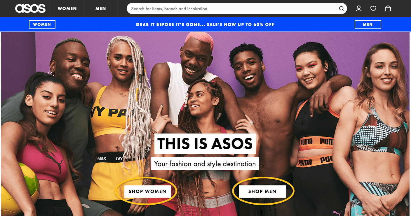 Asos Men and Women