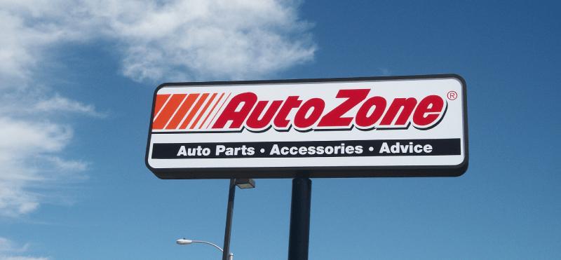 autozone sign