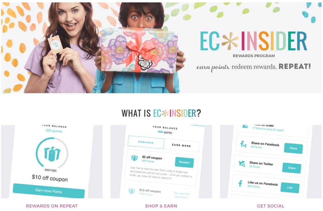 Erin Condren Rewards Program