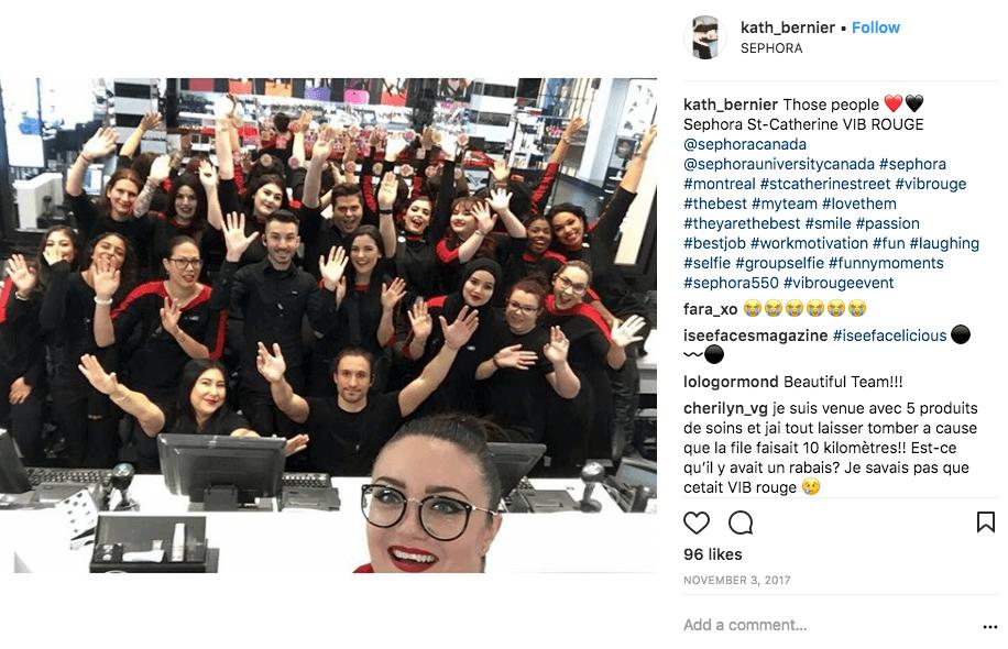 Sephora VIB Rouge Event