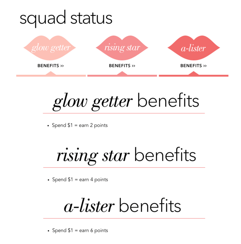 Elf beauty squad tiers