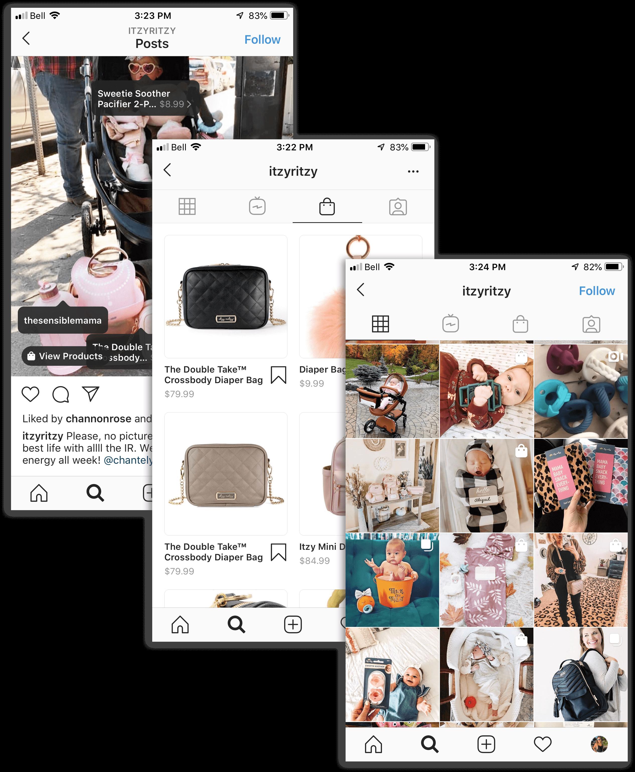 social commerce - itzy ritzy instagram overlap-min