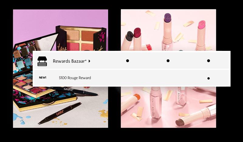 Sephora's Rouge Reward changes