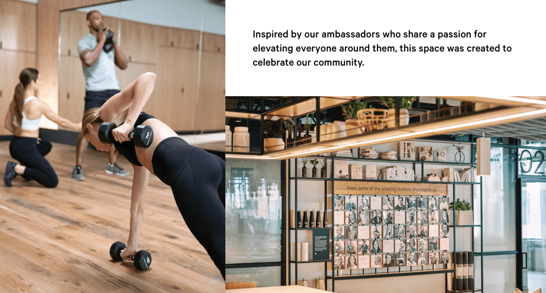 lululemon lifestyle experiential chicago store