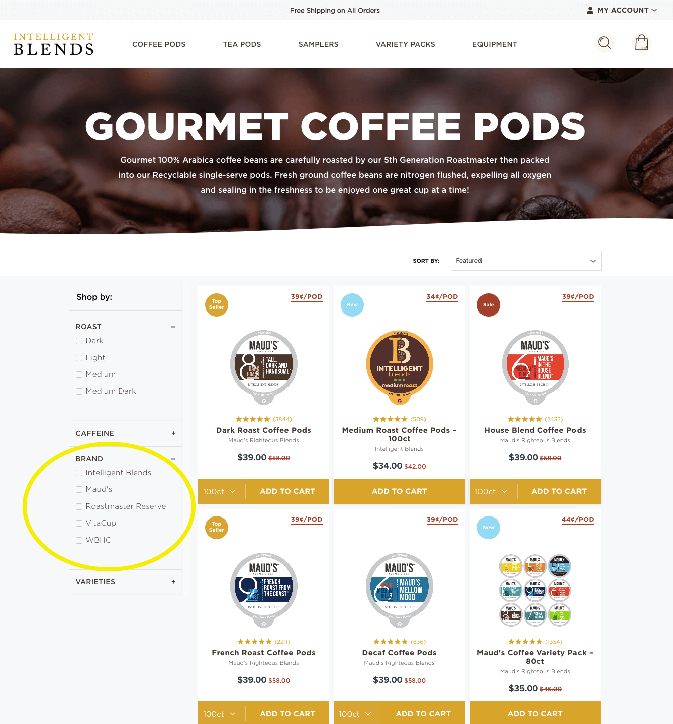 brand partnerships - intelligent blends brands