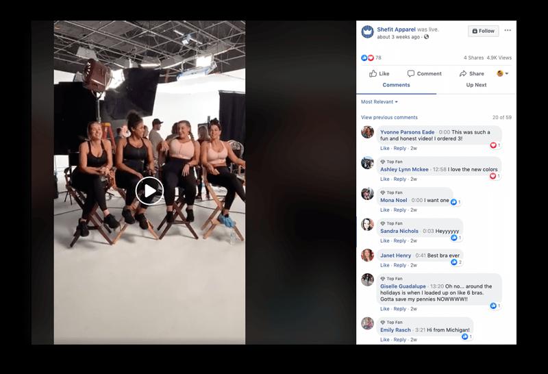 SHEFIT Live Facebook livestream