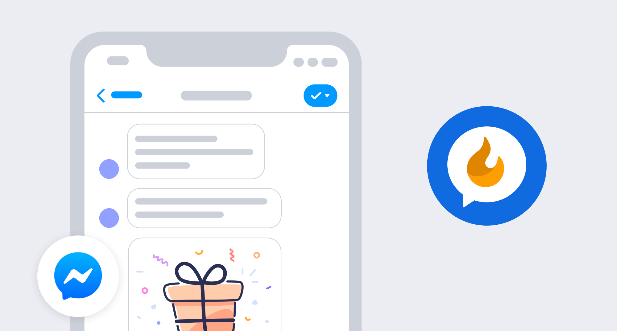 New Smile App Octane AI - Facebook Messenger Chat bot