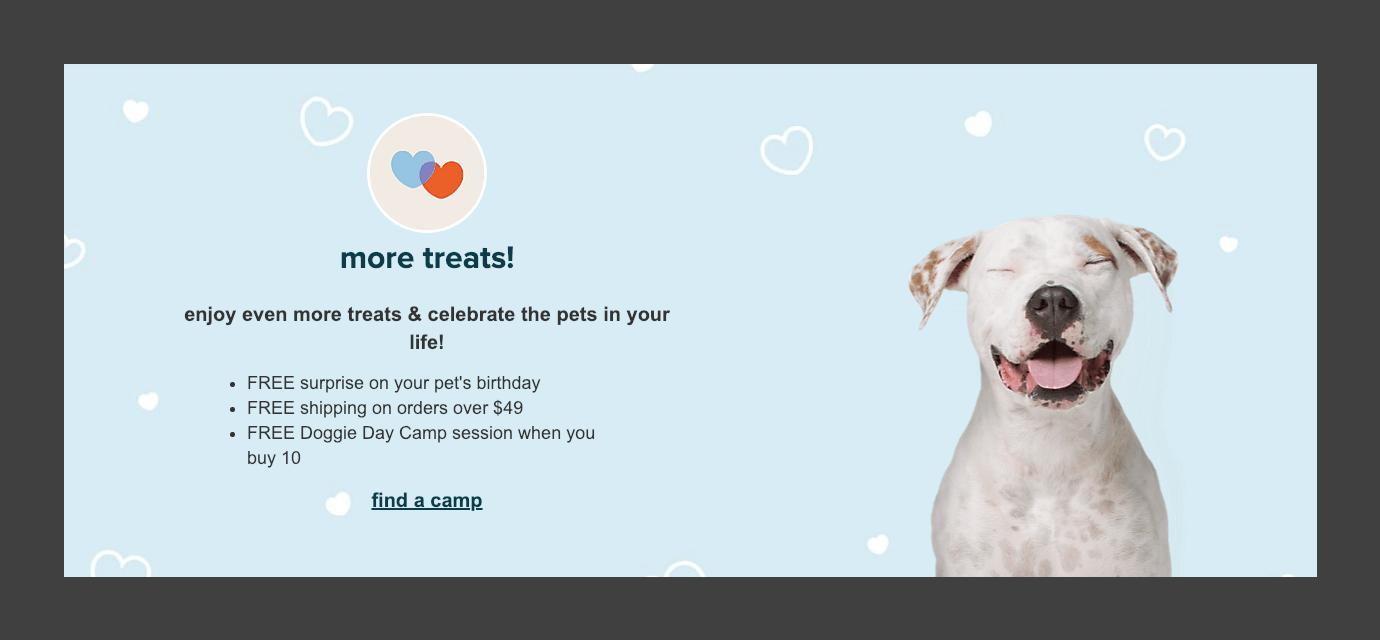 PetSmart Treats program perks