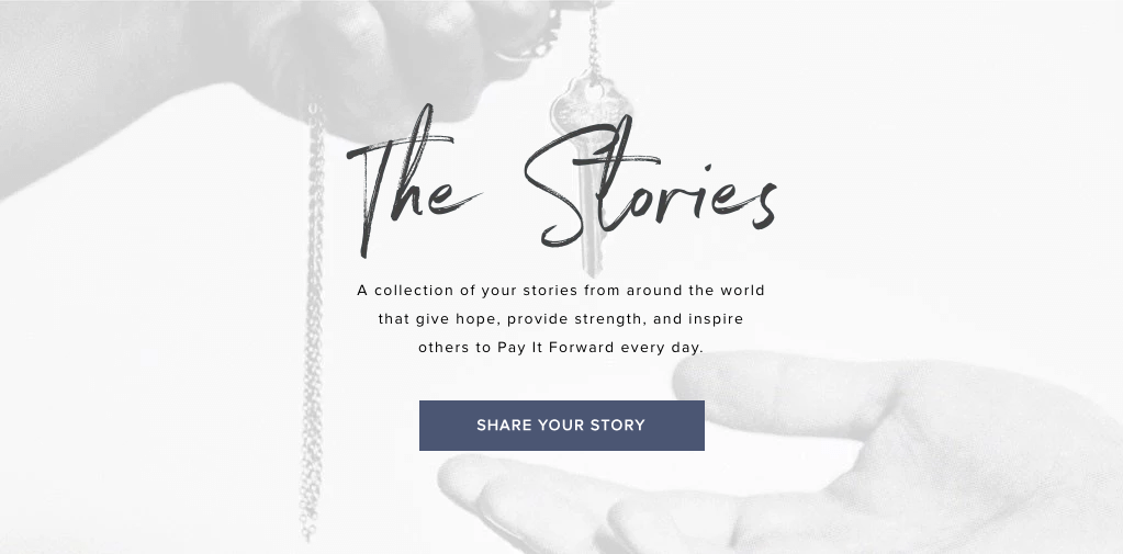 Brand Storytelling - giving keys stories