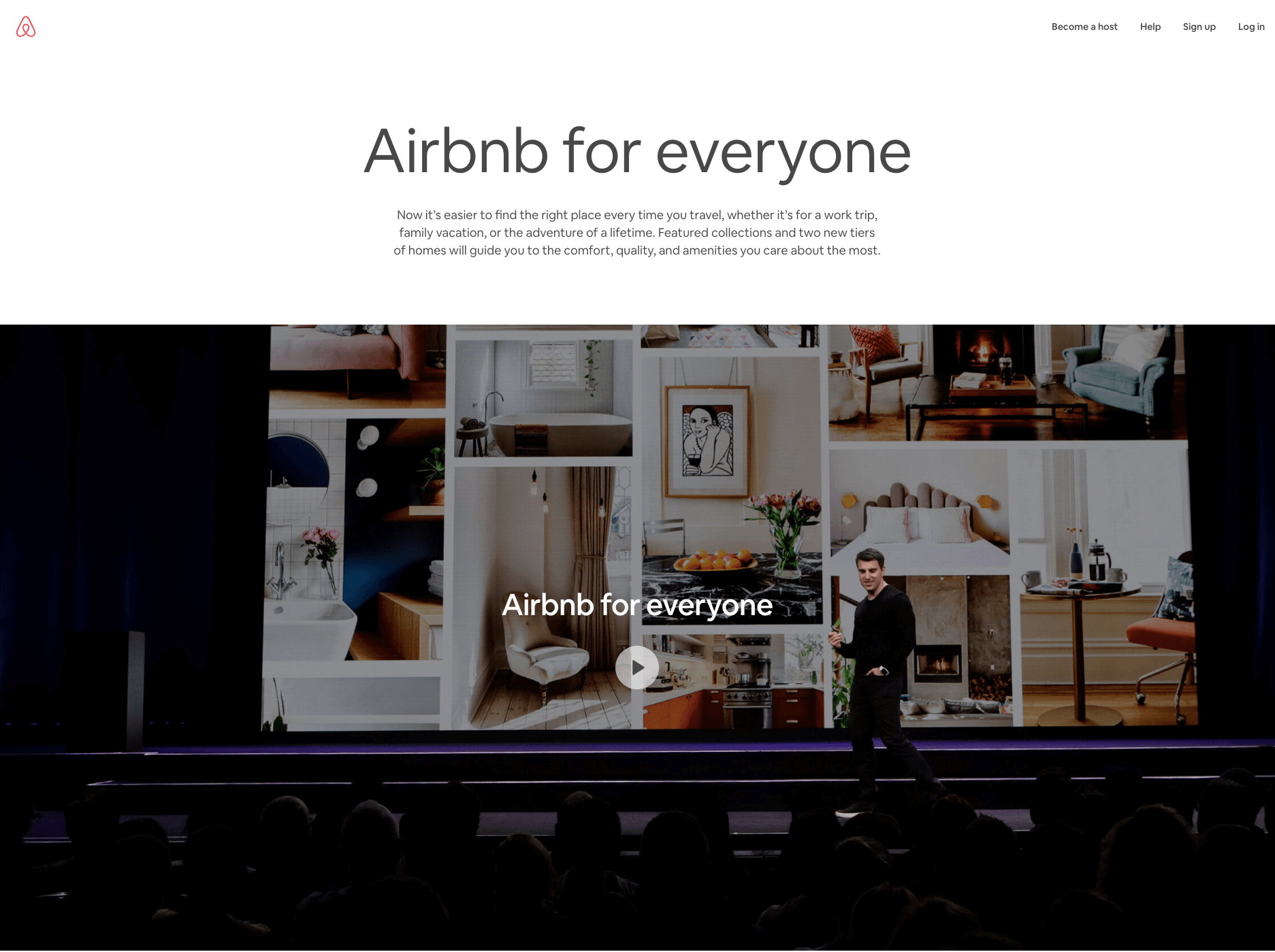 Sharing economy - airbnb for everyone
