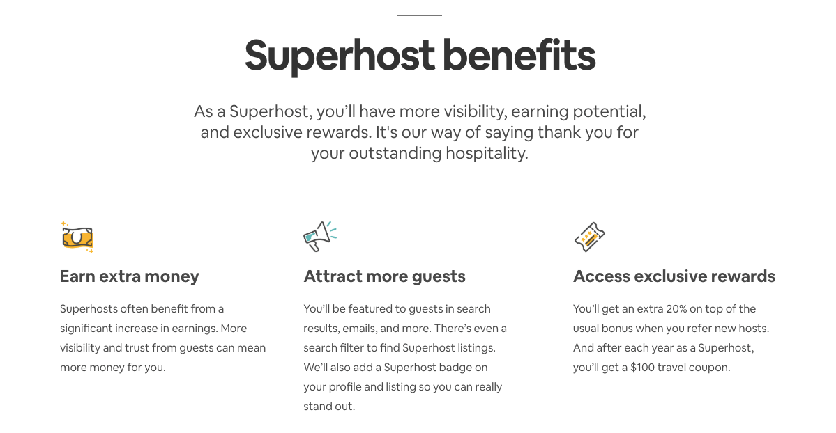 Sharing economy - airbnb superhost