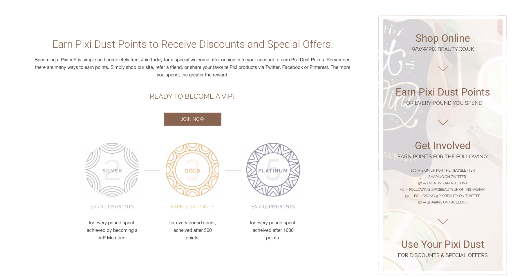 Pixi Beauty Rewards 2020 Customer Base