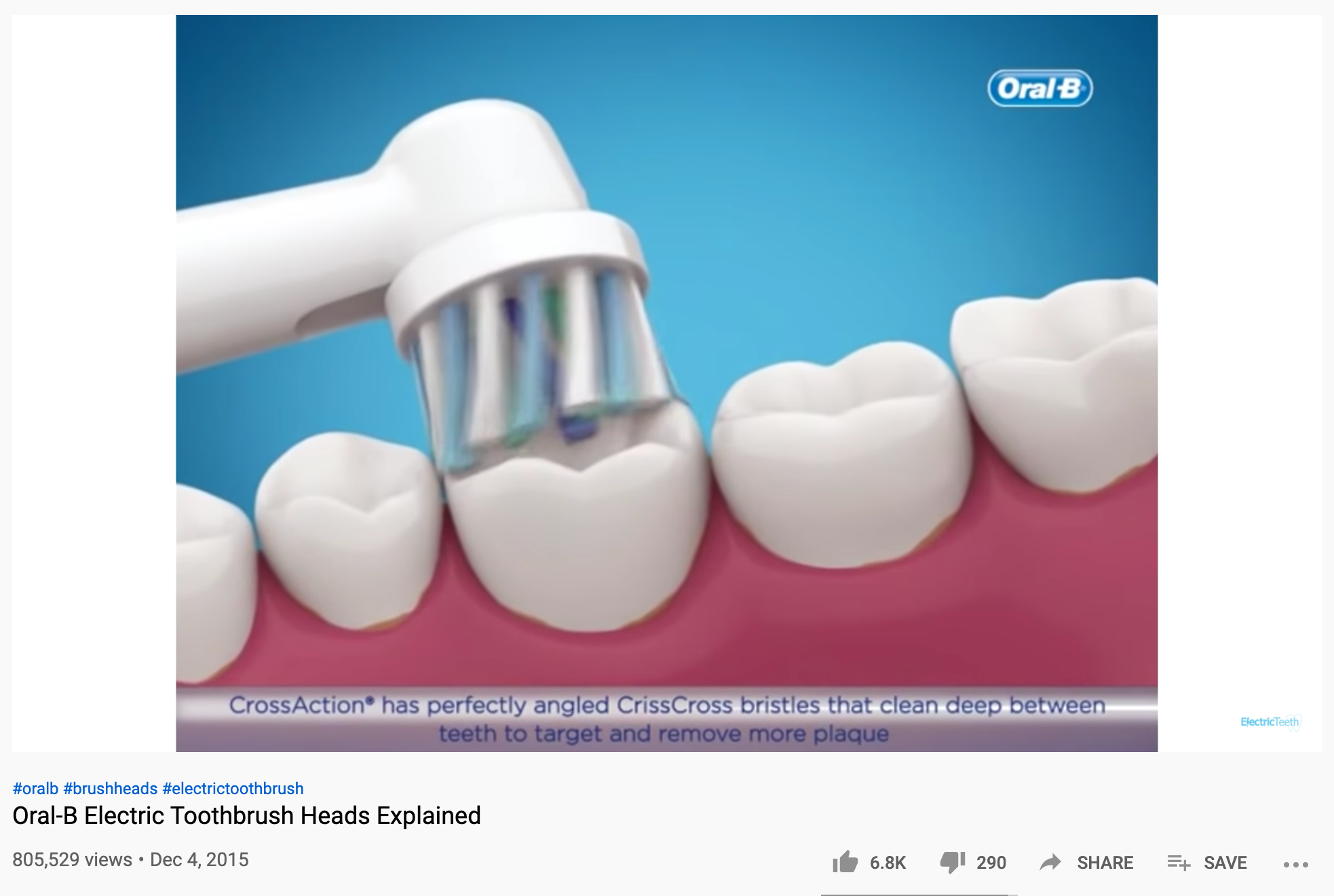 Oral B Video Capture