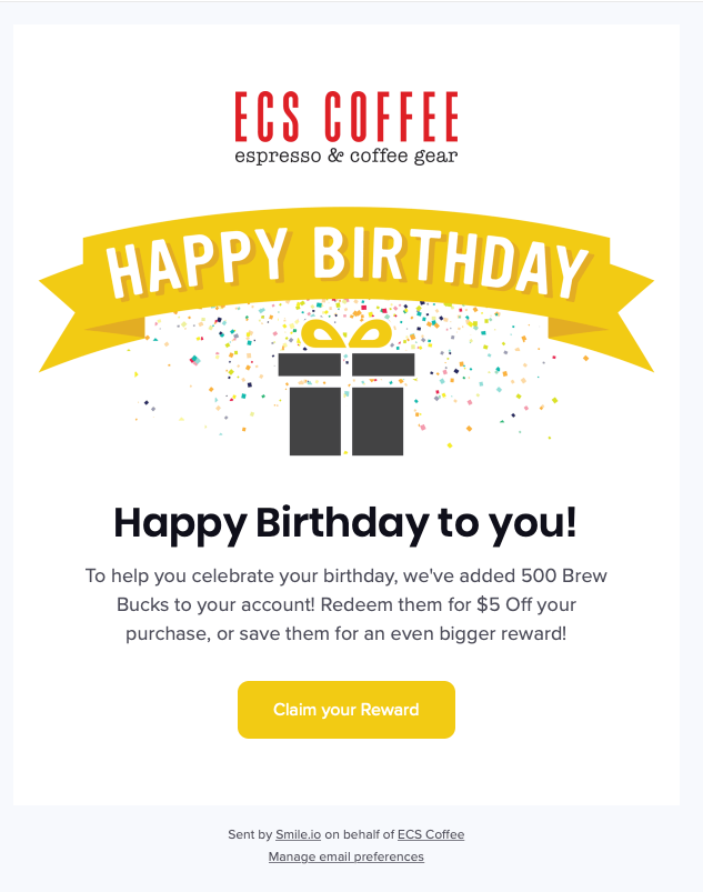 ECS Coffee_Happy Birthday