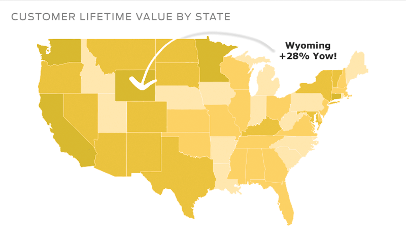 actionable ways to use your customer lifetime value by state