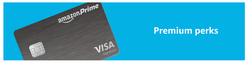amazon prime credit card premium perks