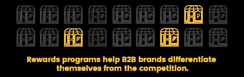 b2b rewards programs differentiation