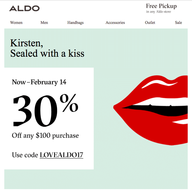 customer segmentation reluctants aldo personalization